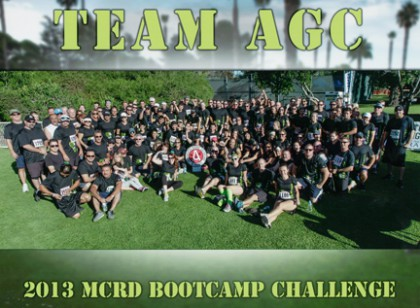 """AGC member, Jon Krause from Flatiron West, Los Angeles summed it up when describing TEAM AGC, """"As a Mustang Captain in the Marine Corps, """"unity of effort and high motivation can accomplish anything,"""" ~ Semper Fi"""