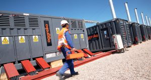 Aggreko Natural Gas Generator