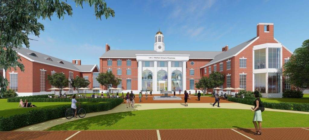 Stonehill Business School Rendering