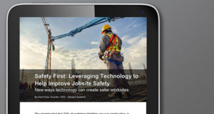 Safety First: Leveraging Technology to Help Improve Jobsite Safety